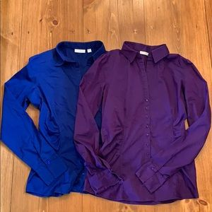 💥3 for $15💥 (2) NY&Company button down tops